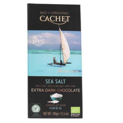 Chokoladeplade Cachet 72%