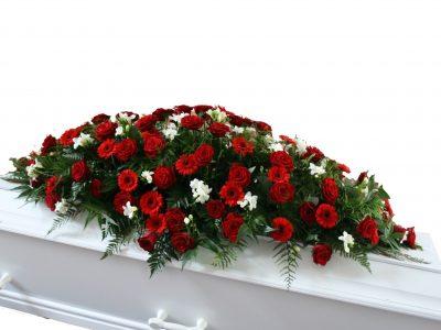 Kistepynt med roser og freshier