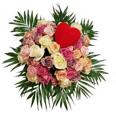 Kærligheds buket i roser