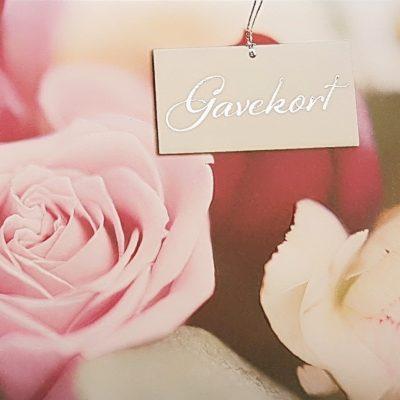 Blomster gavekort