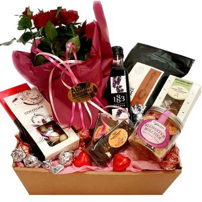 Gavekurv til hende, mor, kærsesten eller bare fordi send en lækker gavekurv