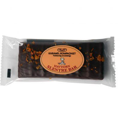 Et lækkert strejf af den syrlige havtorn blandet med den søde karamel