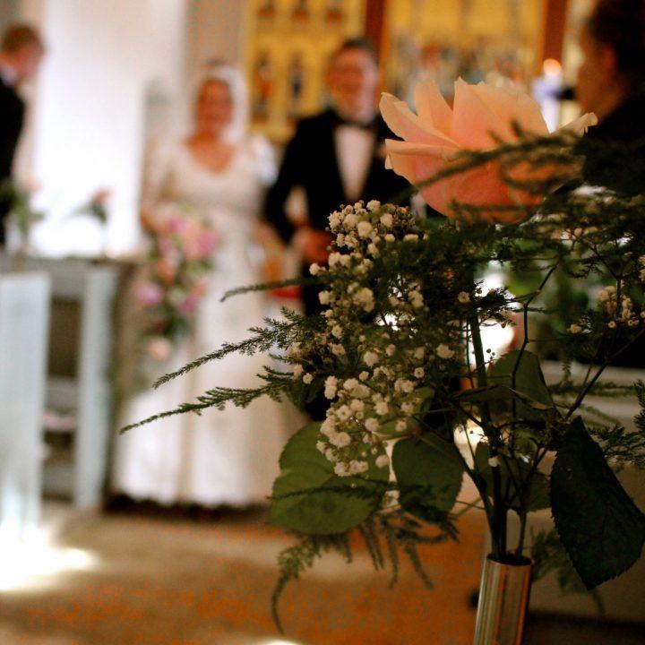kirkepynt til bryllup