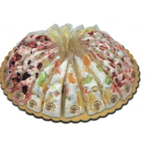 italienske nougat med tørrede frugter