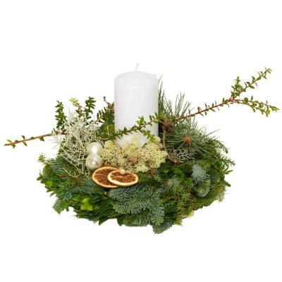 Floristens design i juledekoration
