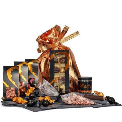 Bronzeposen er den lækrepose der er fyldt op med lækre ting i flotte broze gavepose