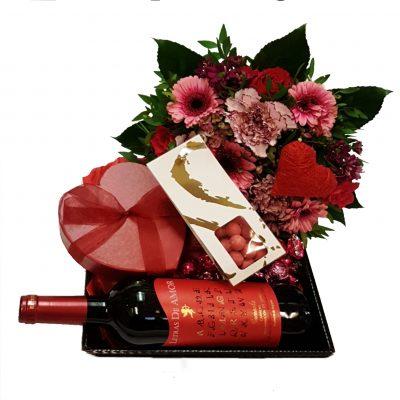 Romantisk gavekurv