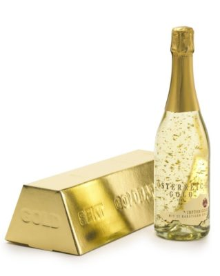 Osterich guld champagne 75 cl
