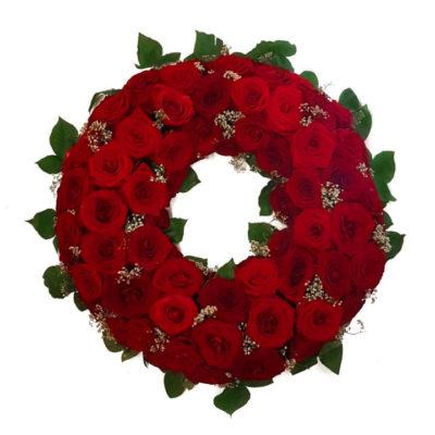 Kans md roser og brudeslør
